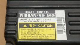 Nissan Altima Hybrid ABS Brake Control Module Computer 47830-JA800 image 2
