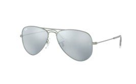 Ray Ban Junior RJ 9506S 250/30 Silver Sunglasses Authentic Frmaes 50-13 - $49.49