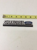 SHAKOPEE FORD Vintage Car Dealer Plastic Emblem Badge Plate - $29.99