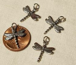 BUGS BIRDS AND GARDENING STERLING SILVER CHARM .925 HUGE SELECTION YOU CHOOSE image 5