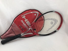 HEAD Magnesium 1500 Constant Beam Oversized Tennis Racquet With Case - $19.00