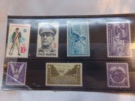 7 Vintage CIVIL WAR USPS Stamps US Postal Set Walt Disney Corp - $8.60