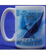 United States Air Force B-2 Bomber Whiteman Base Missouri Coffee Mug Tan... - $17.82