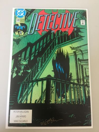Detective Comics (1937 1st Series) #630 Signed by Michael Golden NM Near Mint