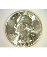 1945 WASHINGTON QUARTER CHOICE ABOUT UNCIRCULATED+ CH. AU+ NICE ORIGINAL... - $11.00
