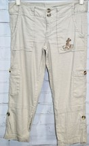 Disney Parks House of Mickey Convertible Linen Casual Pants Women's Size 4 - $29.21