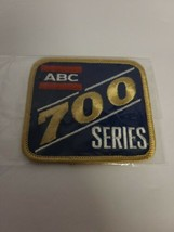 Vintage ABC 700 Series Bowling Patch Blue With Gold Trim NOS NEW - $23.36