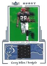 2003 Fleer Avant Materials Blue #6 Corey Dillon /250 - $3.00