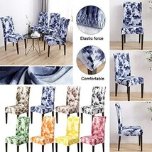 Removable Stretch Chair Covers Slipcovers Dining Room Stool Seat Cover 1... - $20.79