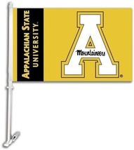Appalachian State Car Flag Banner + Pole - $9.46