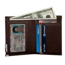 Dante Men's Genuine Leather Slim Wallet Bifold | Credit Card Holder | Travel Wal - $24.54