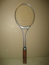 Vintage Wilson 4.5 Match Point Aluminum Leather Grip Tennis Racquet with... - $12.16