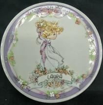 "1991 Samuel J. Butcher ""Laura"" 4"" Plate by Enesco Precious Moments - $15.83"