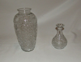 Princess House Fantasia Vase Set of 2 New in Box Crystal 556 Vases Two P... - $67.89