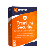 Avast Premium Security 2021 2 Years 10 Devices (Download) - $14.49