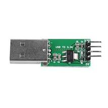5PCS CE009 DC-DC Buck Converter USB Power Module 5V to 3.3V Step-Down Regulator
