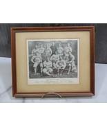 Amherst College Baseball Team 1898 Framed Print - $29.70