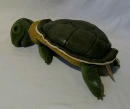 "Folkmanis Turtleneck Turtle Plush Hand Puppet 12"" Full Body Green - $21.29"