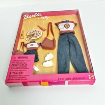 Barbie and Kelly Fashion Avenue Jeans Pizzeria Sealed Mattel Vintage 1999 - $24.74