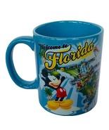 Walt Disney World Mug Coffee Cup Mickey Mouse Florida Jerry Leigh vtg Welcome  - $29.65