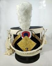 Christmas Gift France Tschako Pick Hood Napoleon Shako Waterloo Infantry... - $203.50