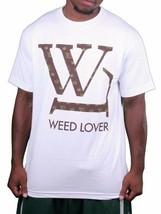 SMW Sesso Soldi Erba Amante Bianco Uomo Marijuana Fumare Pentola T-Shirt Nwt
