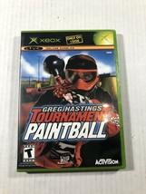 Greg Hastings' Tournament Paintball (Microsoft Xbox, 2004) K11 - $14.25