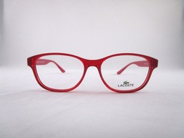 Lacoste L3801-B 615 Optical Frame Red Clear Round Eyeglasses - $65.41