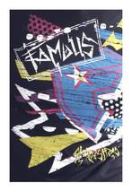 Famous Stars & Straps Black Taka Punk Travis Barker Juniors Tee Size: Small image 1