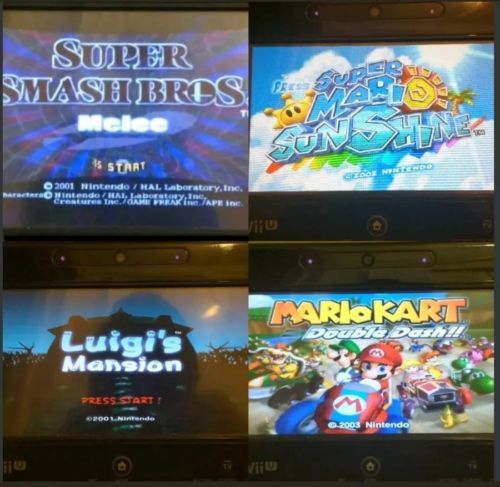 Nintendo Wii U Console Complete with over 6000 games installed!