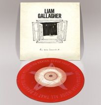 """Liam Gallagher All You're Dreaming Of 7"""" Red Vinyl Ltd Oasis - £30.54 GBP"""