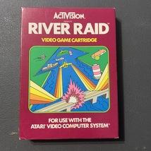 ATARI 2600 River Raid CIB boxed tested video game cartridge Activision clean box - $24.99