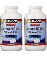 Kirkland Signature Glucosamine HCI (Pack of 2) Extra Strength with MSM (... - $97.14