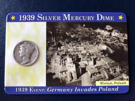 1939 Mercury Silver Dime - $4.95