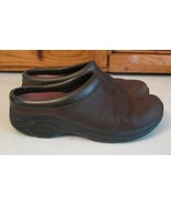 SHOES Merrell Jungle Moc Dark Brown Suede Leather Woman's 7 - $15.83