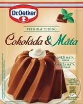 Dr.Oetker Creamy Pudding: CHOCOLATE & MINT 3 PACK - FREE US SHIPPING- - $8.90