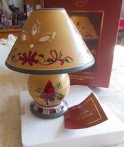 Lenox Winter Greetings Everyday Tealight Lamp NIB Includes Tealight Candle - $38.61