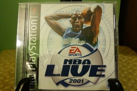 NBA Live 2001 PS1 (Sony PlayStation 1, 2000) Good Condition - $7.91