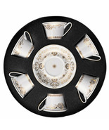 Versace by Rosenthal Versace Medusa Gala Gold Set with 6 tea cups - $1,245.10