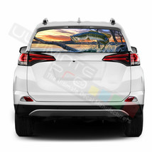 Fishing Decals Window See Thru Stickers Perforated for Toyota RAV4 2018 ... - $59.80