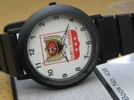 Bulova vintage NFL sports Forthy Niners japan quartz watch 23003 SF 49ers - $51.43