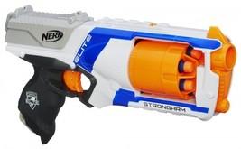 Nerf N-Strike Elite Strongarm Blaster 6 Darts 90ft Kids Pistol Gun Toy G... - $16.32