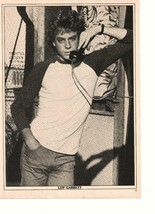 Leif Garrett Rad Daly teen magazine pinup clipping on the phone Tiger Beat - $5.00