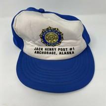 Vintage American Legion Anchorage Alaska SnapBack Hat - $9.89