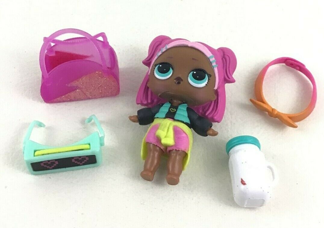 LOL Surprise MGA Doll and Accessories 5pc Lot Purse Headband Cup Sunglasses 2017 - $16.78