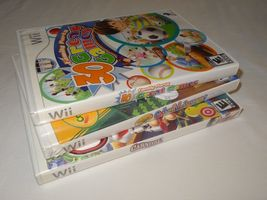 Wii Lot - Carnival Games 30 Great Games Family Party Crayola Colorful Journey image 7