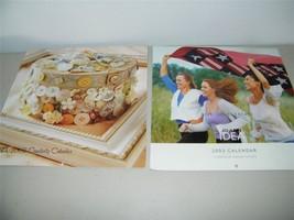 2 Joann Fabrics Idea Calendar 2003 2005 12689 - $7.24