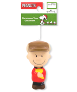 Hallmark Peanuts Charlie Brown Decoupage Christmas Ornament New with Tag - $9.95