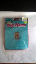 VINTAGE 1977 BIG MAMA PANTYHOSE SIZE L COFFEE STYLE 5488-L 100% NYLON - $12.19