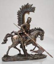 Unique Polish Hussar Winged Cavalry Bronze * ** Free Shipping Everywhere... - $139.00